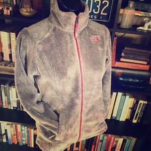 The North Face Girls Gray Full Zip Jacket